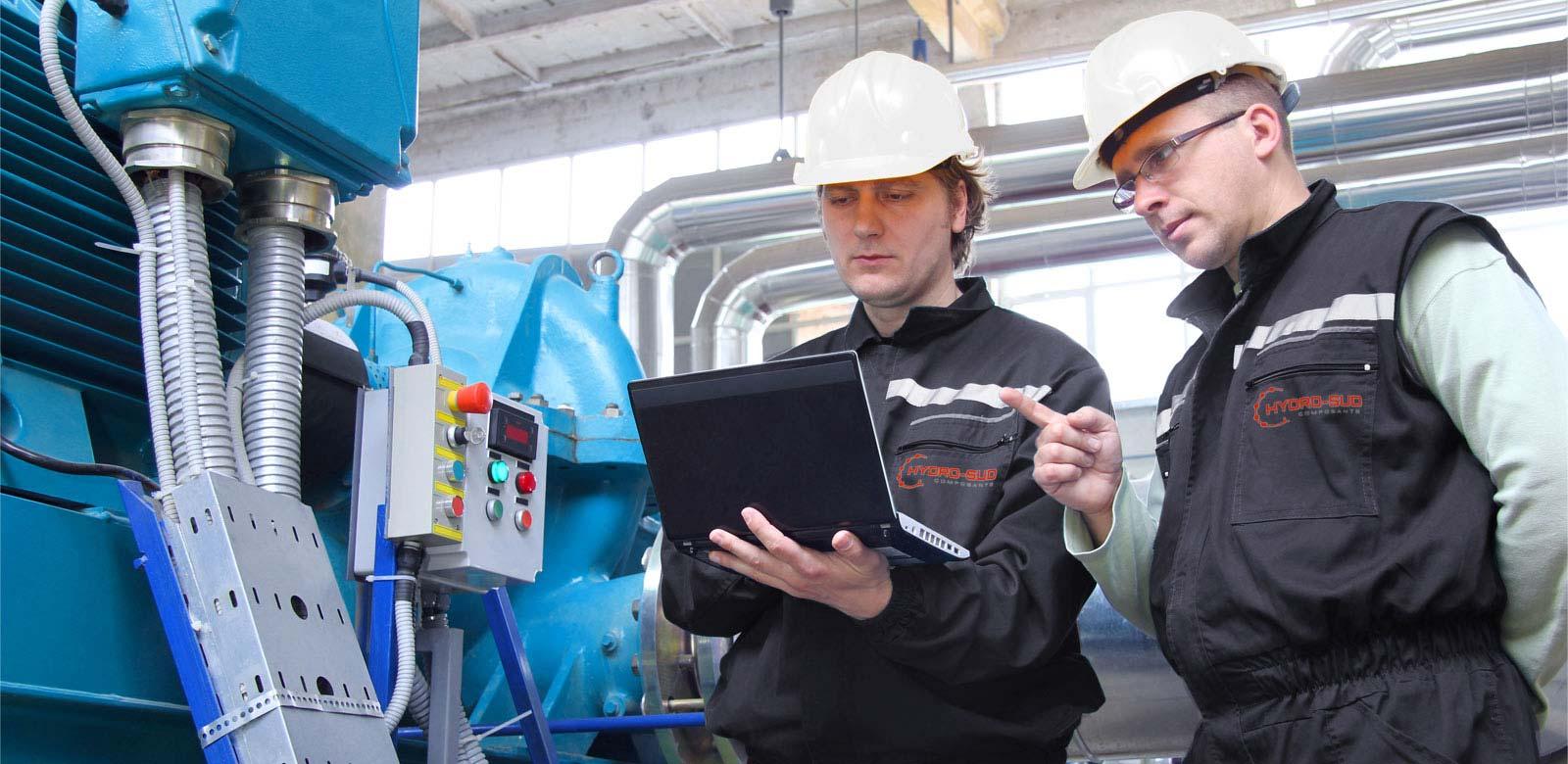 Réparation et maintenance hydraulique